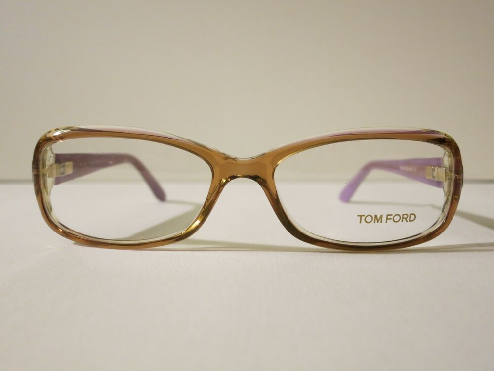 tom ford tf5213 light brown purple glasses optique eyewear