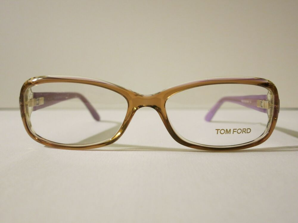 Tom Ford TF5213 Light Brown Purple Glasses Optique Eyewear ...