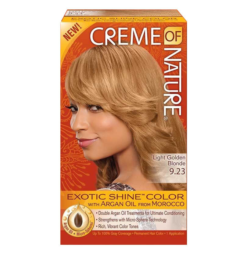 Creme Of Nature Hair Color Brown