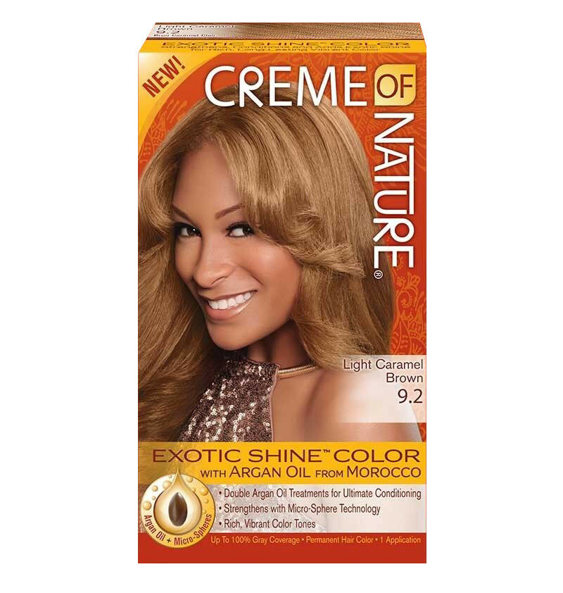 Creme Of Nature Exotic Shine Color With Argan Oil Light