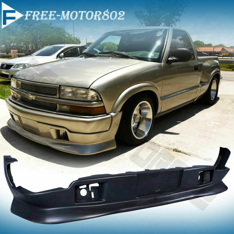 98-04 CHEVY S10 GMC EXTREME STYLE PU URETHANE FRONT BUMPER ...