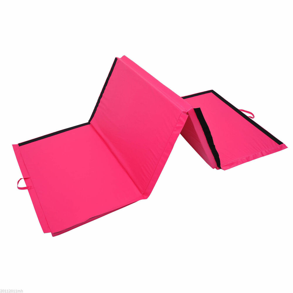 "4'×10'×2"" Folding Gym Exercise Mats Yoga Mat Gymnastics"