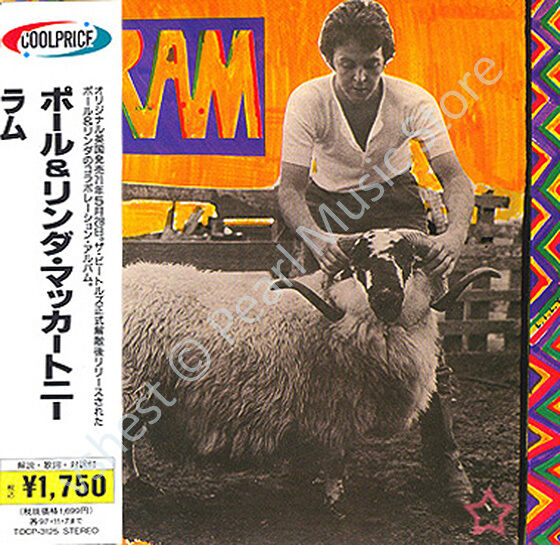paul mccartney ram cd mini lp obi quarrymen beatles wings linda album new sealed 4988006713031. Black Bedroom Furniture Sets. Home Design Ideas