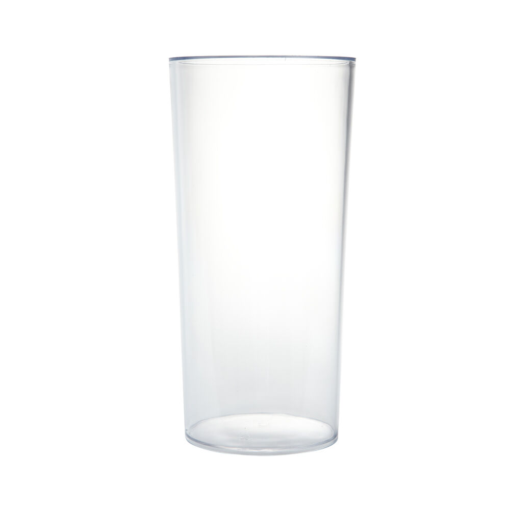 25cm cylinder vase clear acrylic plastic lightweight for Glass or acrylic