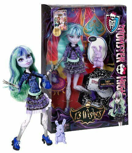 Can suggest Monster high 13 wishes dolls idea think