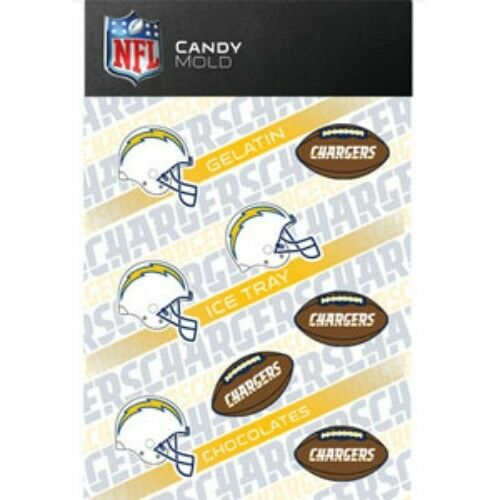 Nfl Football Chocolate Candy Mold San Diego Chargers Ebay