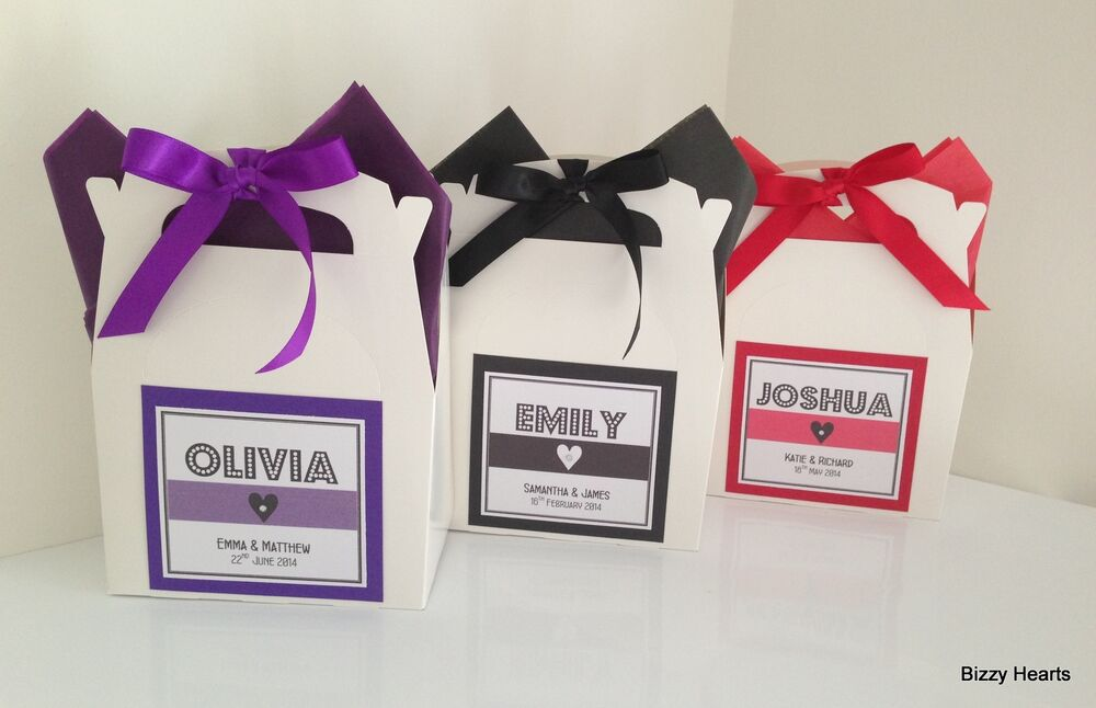 Personalised Childrens Wedding Gift Bags : LUXURY Personalised Childrens WEDDING ACTIVITY BOX Bag Favour Gifts ...