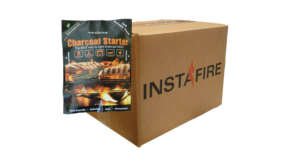 27 Pack InstaFire Charcoal Starter Fuel For Fire Starter