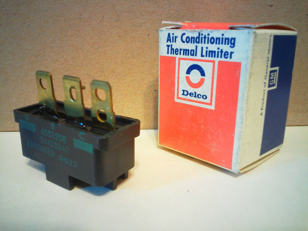 Pontiac Gm Ac Delco Air Conditioning Compressor Thermal Limiter Fuse Switch Nos