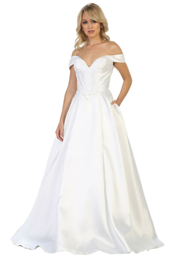 NEW CLASSY 3/4 SLEEVE MOTHER OF THE BRIDE GROOM DRESS