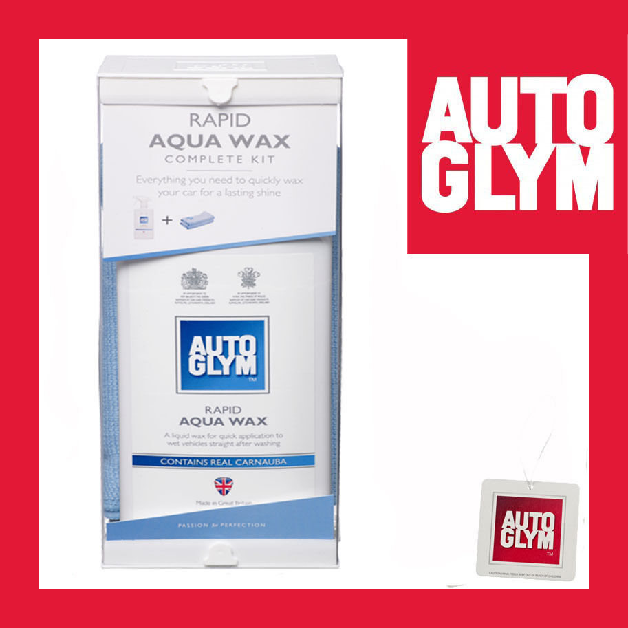 autoglym rapid aqua wax complete kit ebay. Black Bedroom Furniture Sets. Home Design Ideas
