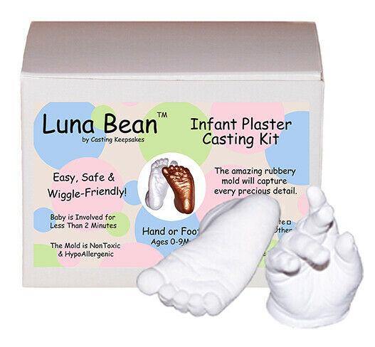 Infant Plaster Casting Kit Baby Footprint Hand Print