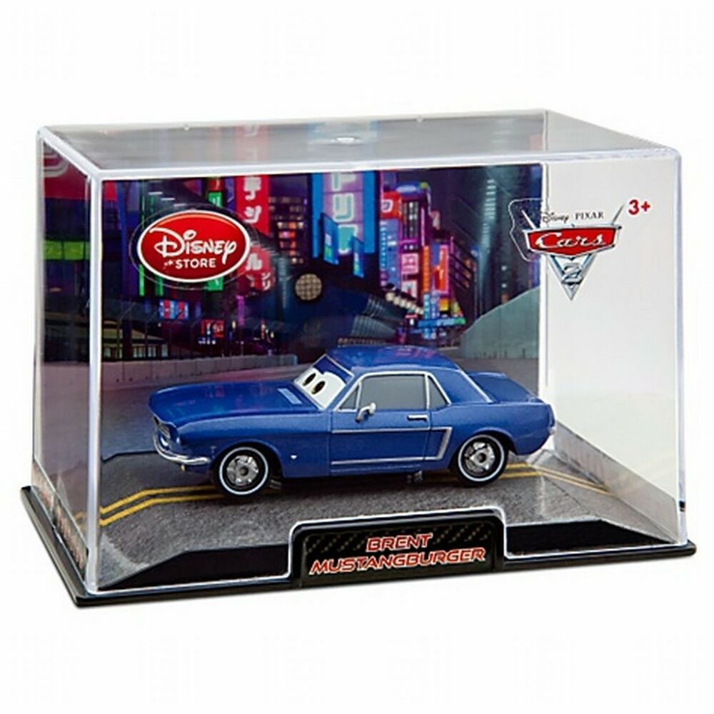 Disney Store Cars 2 Die Cast Collector Case Brent