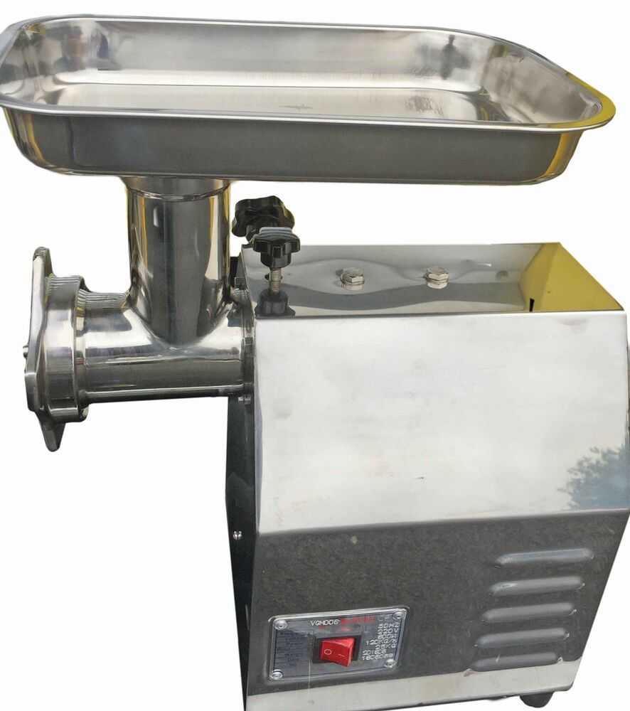 Commercial Electric Grinder Guards ~ Commercial mincer butchers meat grinder quality heavy duty