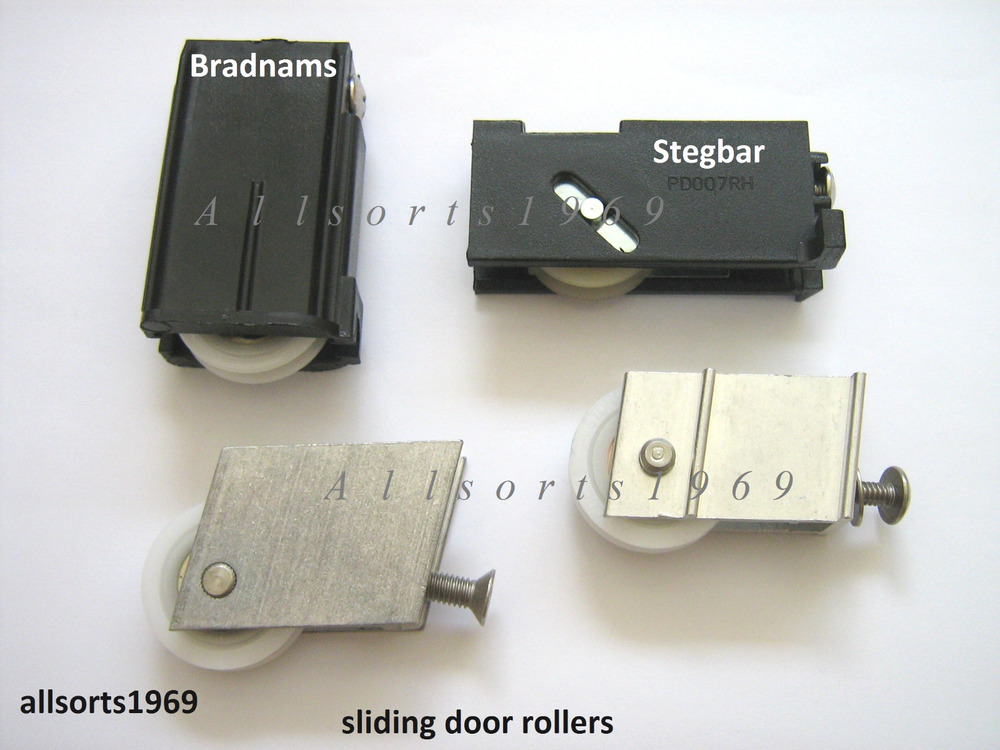 Sliding glass door rollers wheels 1 pair stegbar for Sliding door rollers