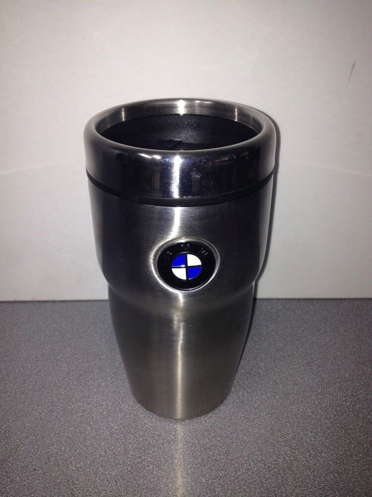 bmw roundel travel mug bmw mugs bmw coffee cup bmw travel mug stainless steel ebay. Black Bedroom Furniture Sets. Home Design Ideas