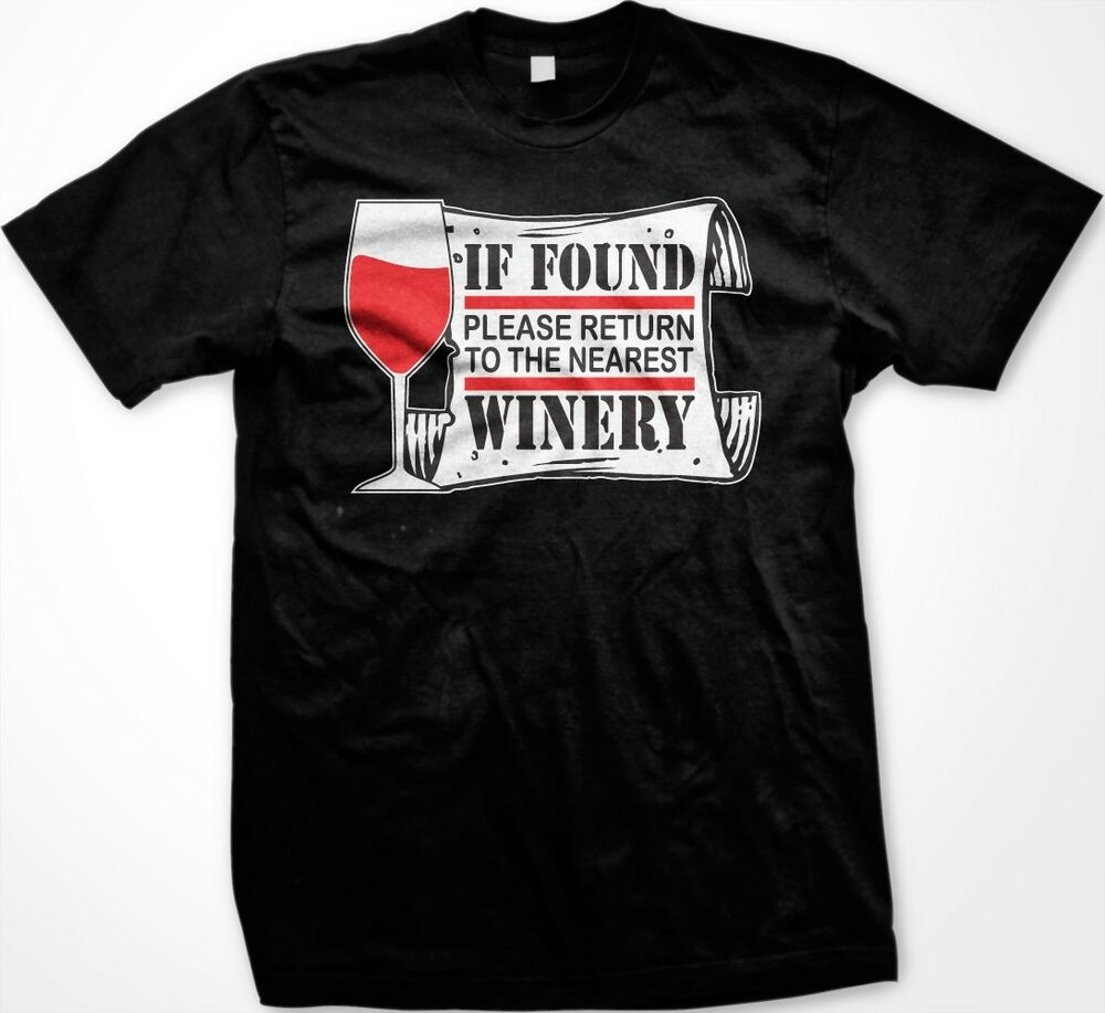 Wine Shirts For Men