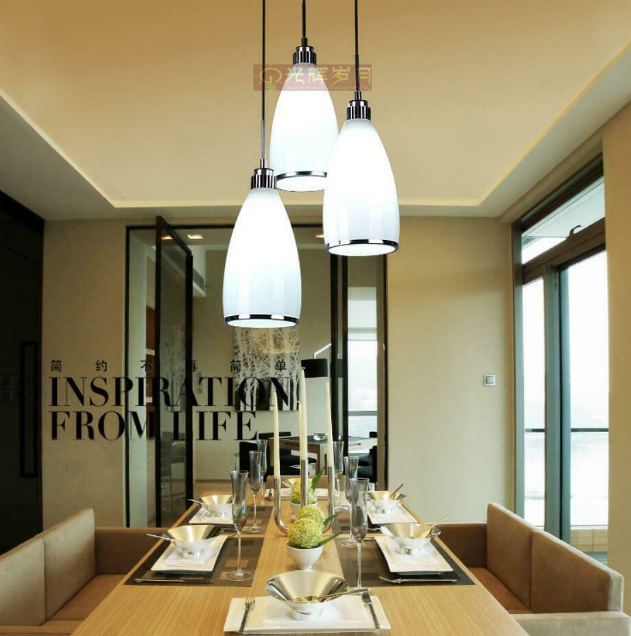 Kitchen Lighting Fixture Sets: Modern Ceiling Light Dinner Room Pendant Lamp Kitchen