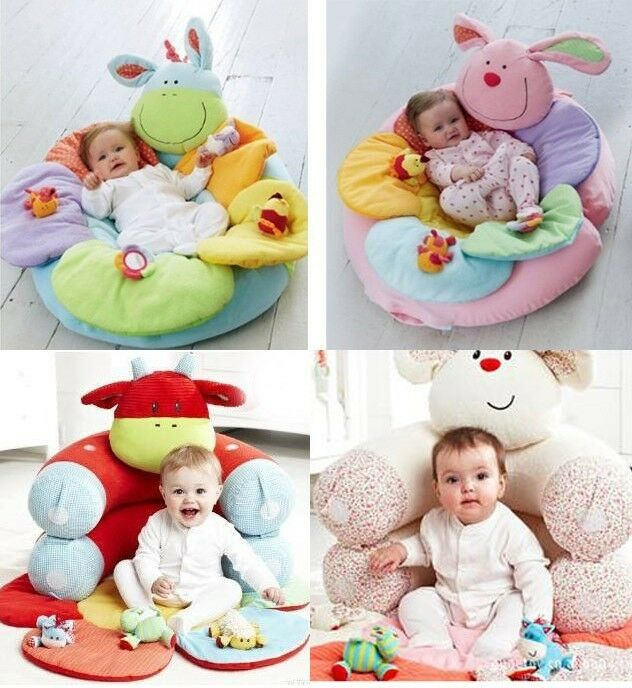 New Baby Inflatable Seat Baby Play Mat Game Pad Blossom