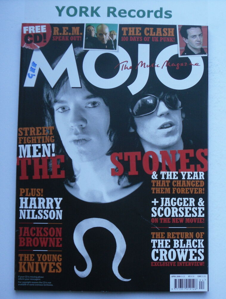 Mojo magazine april 2008 the rolling stones harry for Mojo jackson