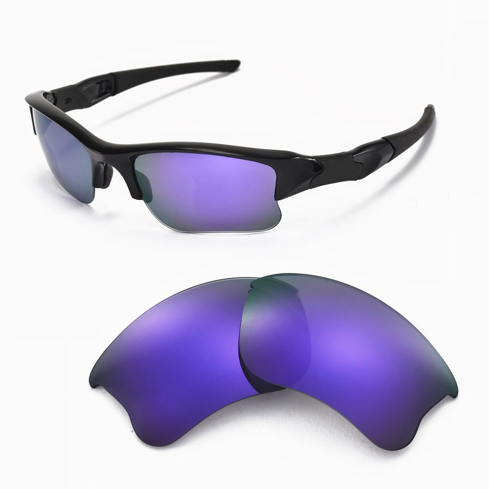 New Wl Polarized Purple Replacement Lenses For Oakley Flak