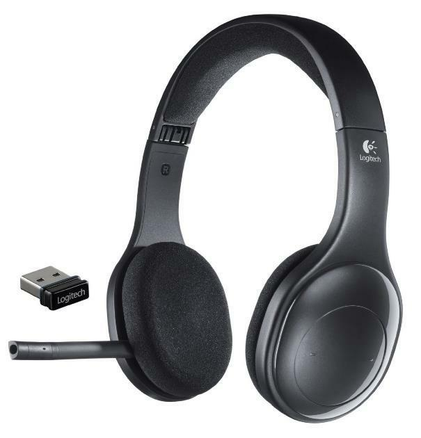 n logitech h800 wireless bluetooth headset for pc tablets smartphones 981 000337 ebay. Black Bedroom Furniture Sets. Home Design Ideas
