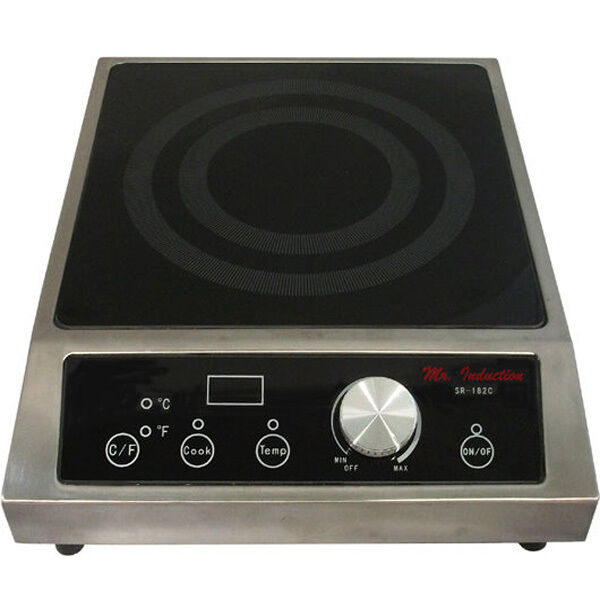Commercial 3400w Portable Induction Cooktop Countertop