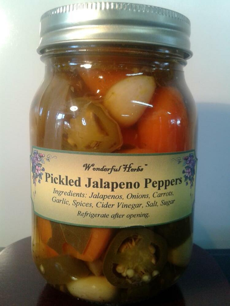 Pickled Jalapeno Peppers (Escabeche) | eBay