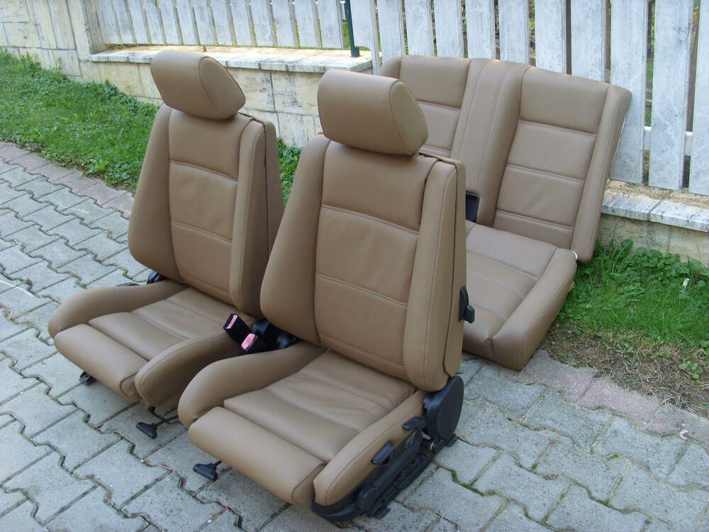 Bmw 3 Series E30 Convertible Leather Seat Covers Ebay