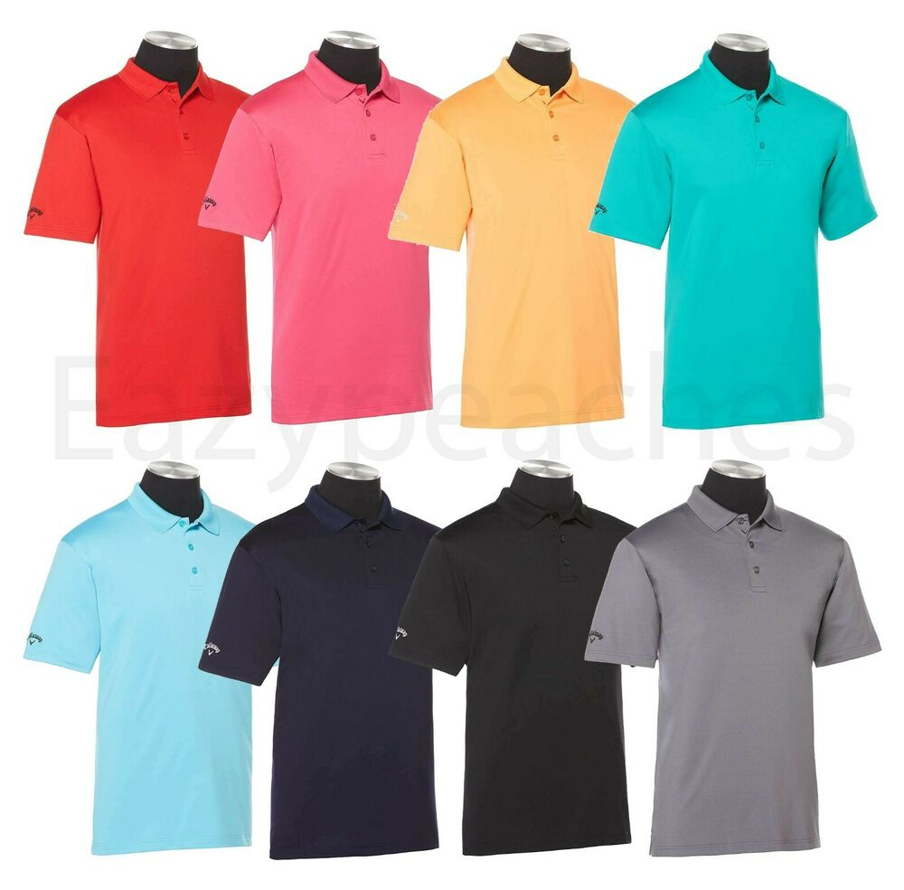 Callaway golf mens size s 2xl 3x 4xl piped performance for Men s athletic polo shirts