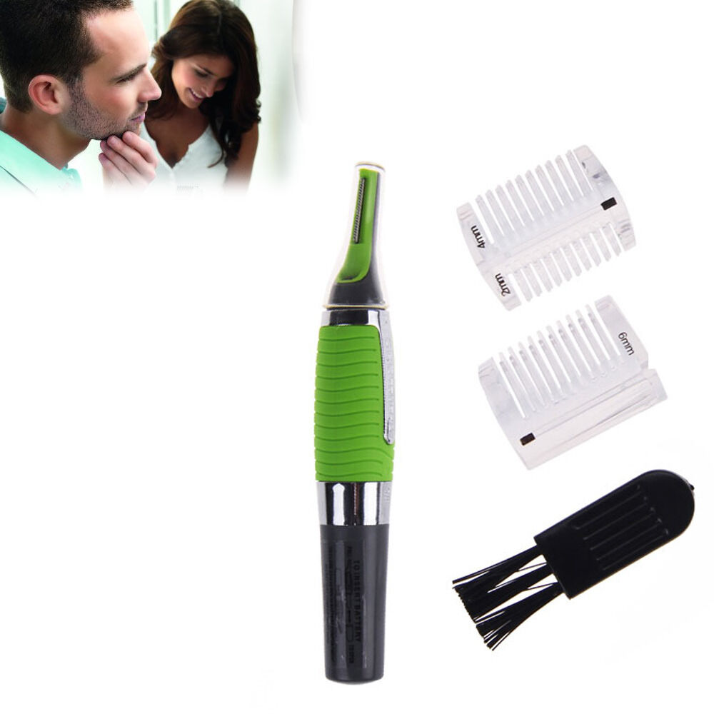 new micro touch max nose ear neck eyebrow hair beard trimmer remover ebay. Black Bedroom Furniture Sets. Home Design Ideas