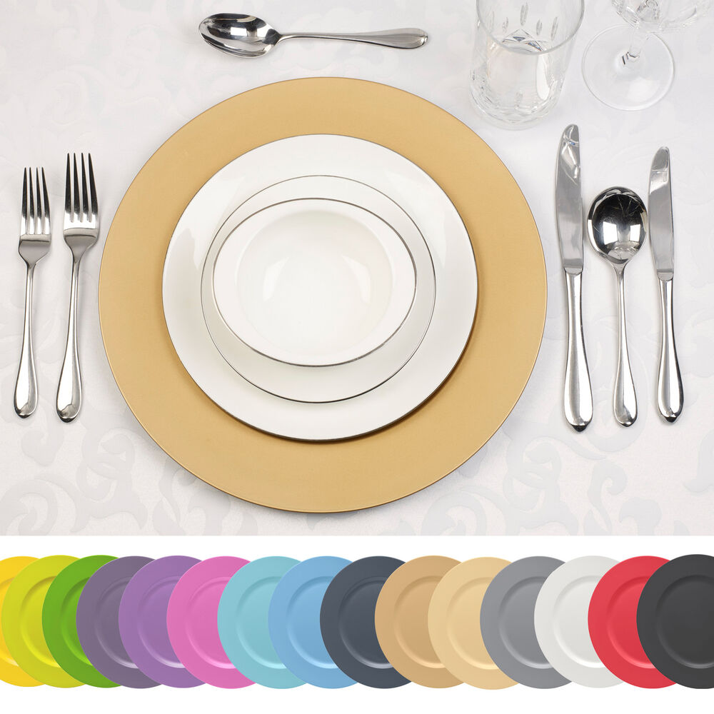4 x Designer Decorative Charger Plates Xmas Dinner Dining  : s l1000 from www.ebay.co.uk size 1000 x 1000 jpeg 105kB