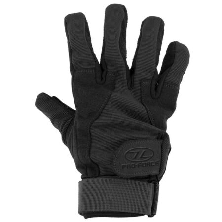 img-PRO-FORCE MILITARY FORCES TACTICAL COMBAT MISSION GLOVES AIRSOFT SHOOTING BLACK
