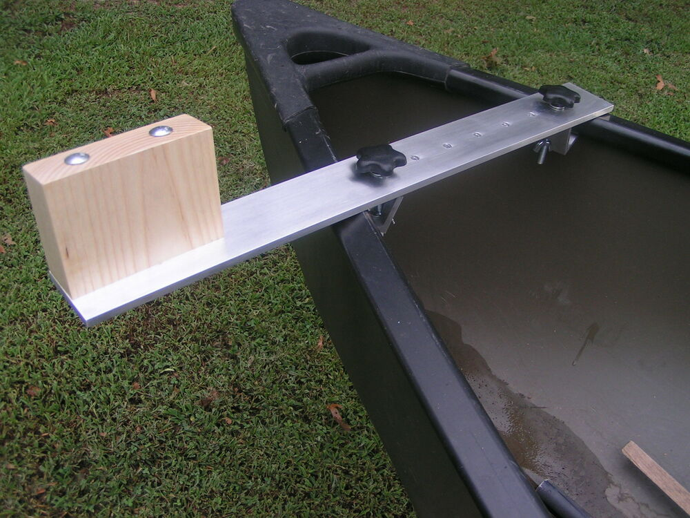 homemade trolling motor mount for canoe