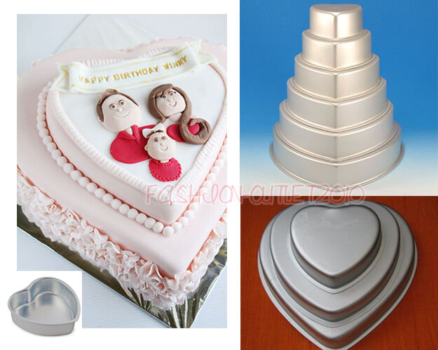 cake pan sizes for wedding cakes 7 sizes 3d cake pan tins chocolate jelly baking 12300