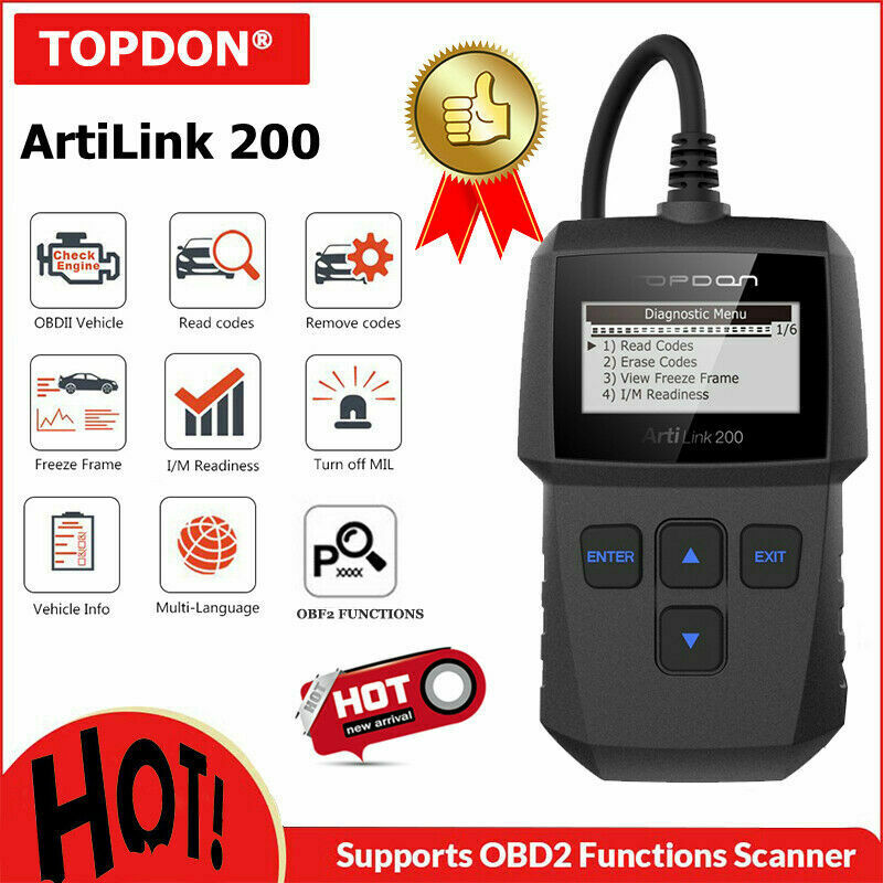 autel al319 obd2 can code reader diagnostic tool turn off check engine light ebay. Black Bedroom Furniture Sets. Home Design Ideas