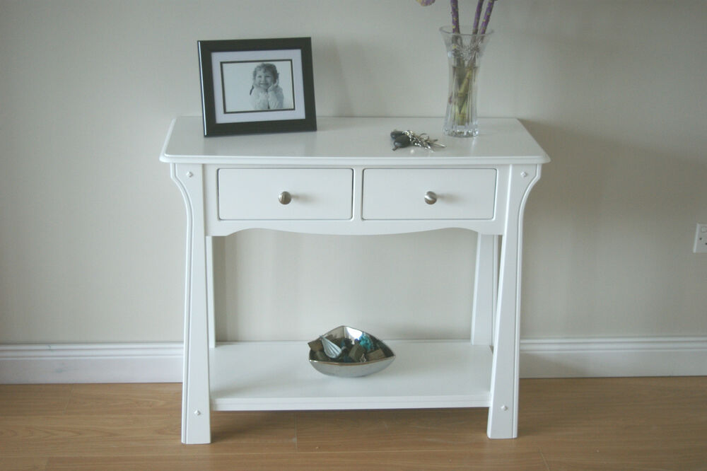 hall table hall console side table end table painted hall