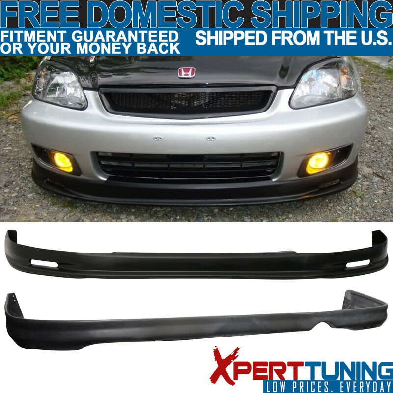 1999 2000 honda civic ek 2 4dr mg front rear bumper lip. Black Bedroom Furniture Sets. Home Design Ideas