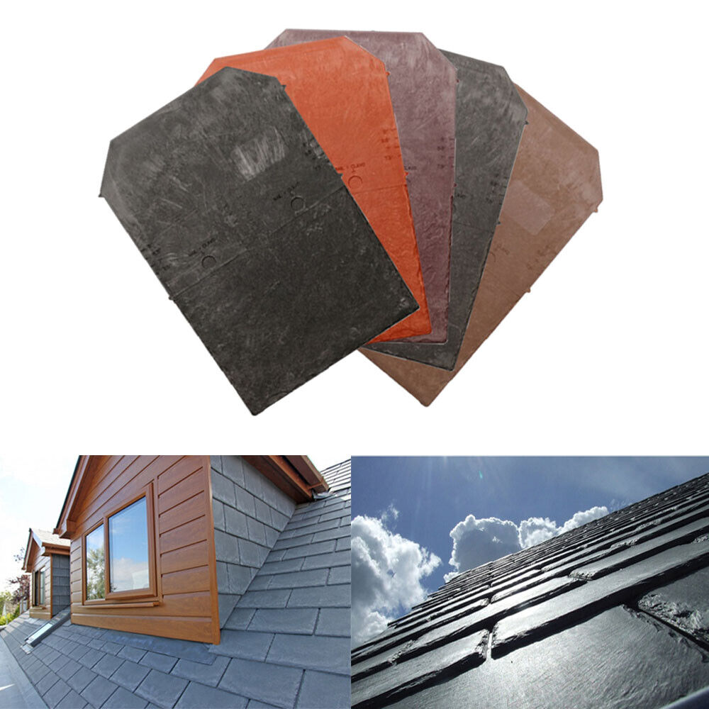 Tapco Plastic Roof Slate Tile Porch Conservatory Shed