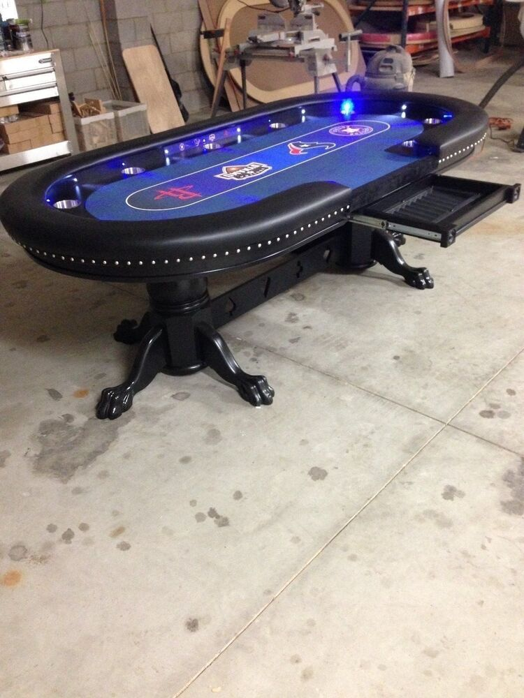 Deluxe 48 Quot X96 Quot Custom Built Poker Tables By