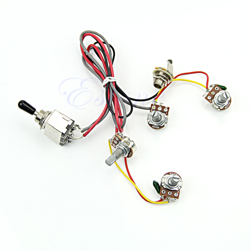 Guitar Wiring Harness 3 Way Switch Youtube Diagrams Toggle Diagram Get Free Image About 5 Gibson