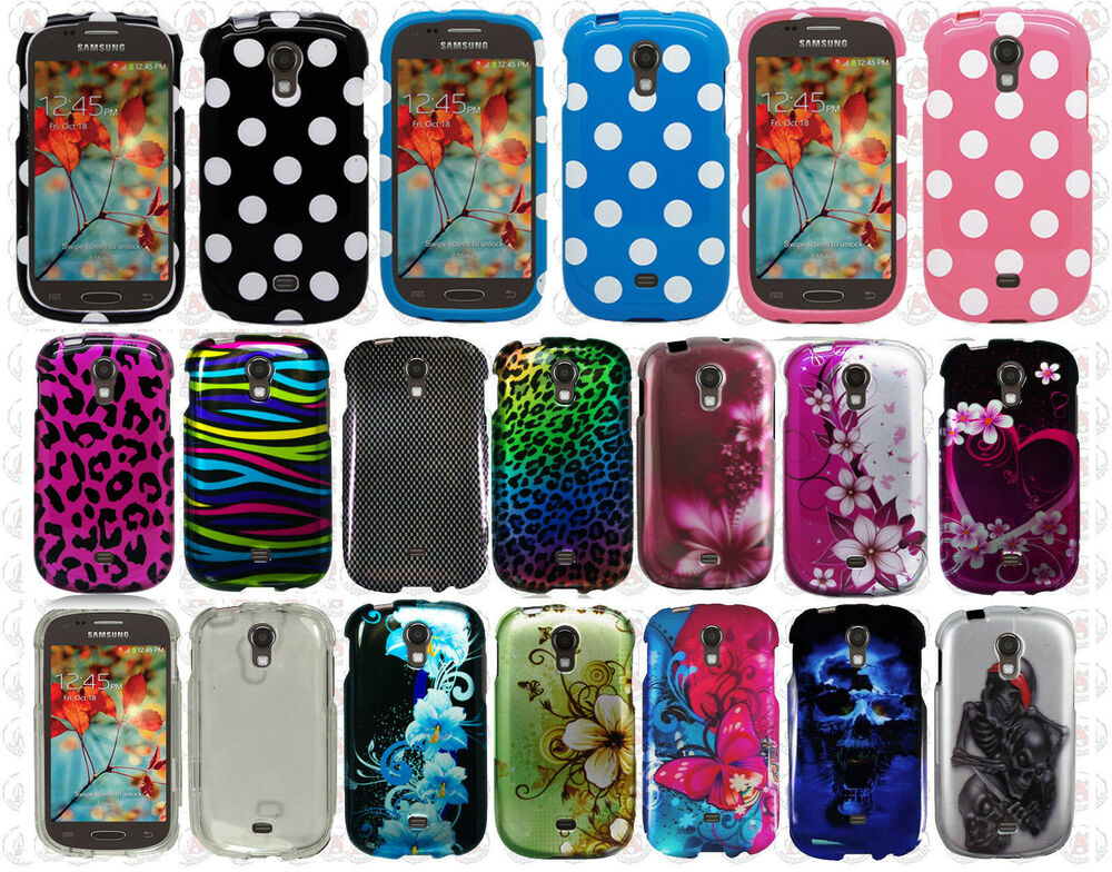 For Samsung Galaxy Light SGH T399 HARD Case Snap On Phone