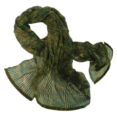 img-ARMY PATROL SCRIM NET SCARF TACTICAL COMBAT HEAD WRAP USMC DIGITAL WOODLAND CAMO