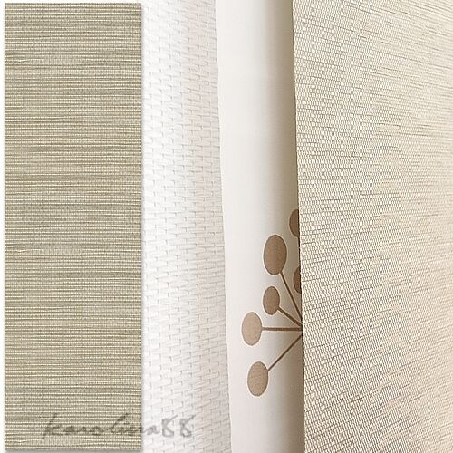 Ikea ANNO SANELA Beige Natural Window Panel Curtain for Kvartal system ...