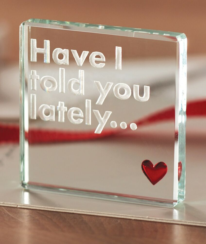 Gifts For Her For Christmas: Spaceform Have I Told You Lately Romantic Love Gift Ideas