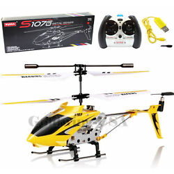 Kyпить Cheerwing S107G RC Helicopter 3.5CH Mini Metal Remote Control GYRO Kids Gift на еВаy.соm