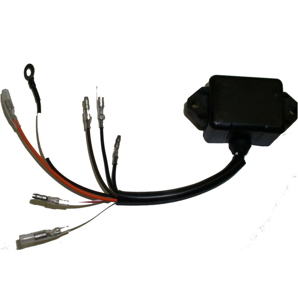 Cdi electronics yamaha outboard ignition pack 2 cyl 117 for Yamaha outboard cdi box