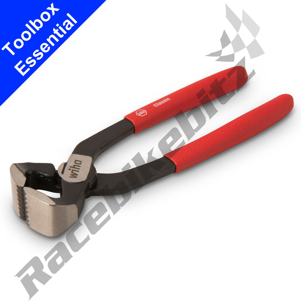 wiha double ear 0 clamp tool end closing pincers for crimping fuel clips on hose ebay. Black Bedroom Furniture Sets. Home Design Ideas