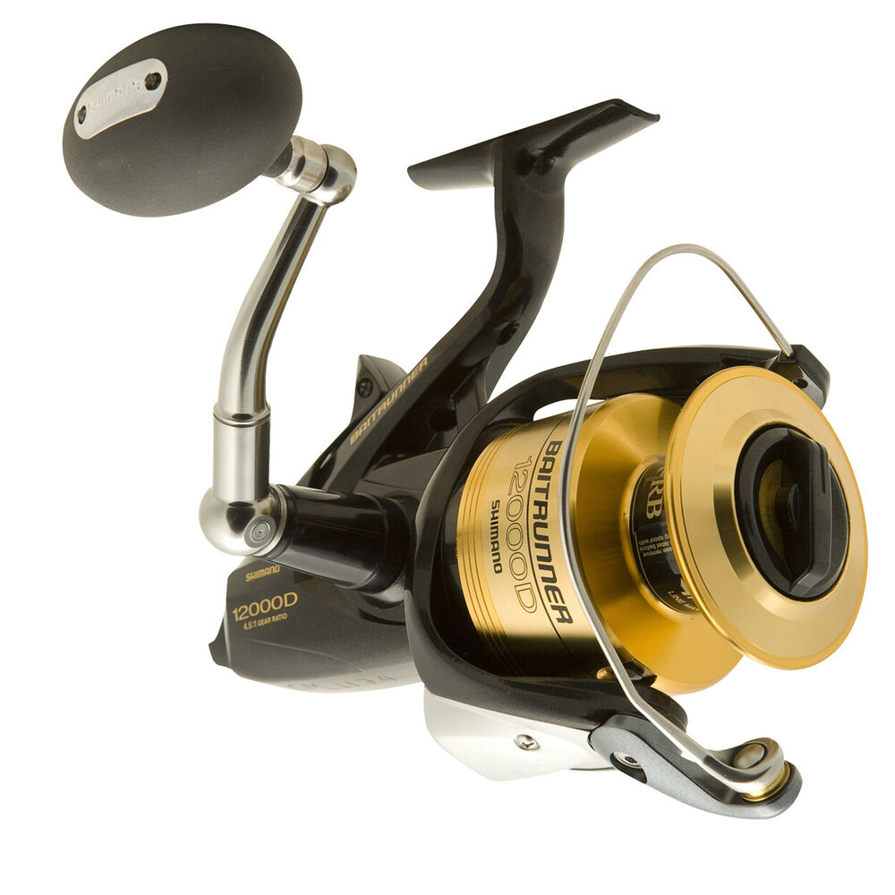 Shimano baitrunner 8000d spinning fishing reel brand new for Ebay fishing reels