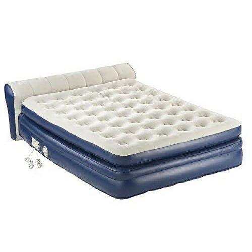 Aerobed 2000011983 18 elevated queen airbed inflatable mattress built in pump ebay - Matelas gonflable aerobed ...